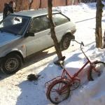 Эстремал - зимой на