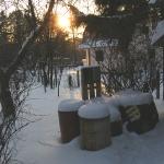 Короткий зимний день завершается
