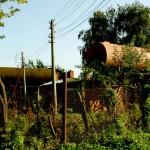 Водонапорная и электроподстанция посёлка